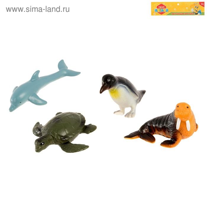 """Фигурка животного """"Морские обитатели"""", МИКС"""