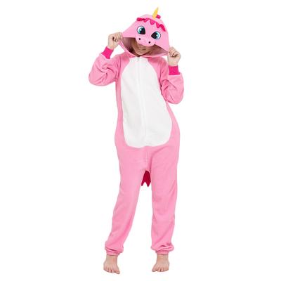 "Комбинезон-кигуруми детский ""Розовый единорог"", рост 128 см"