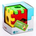 Игрушка-сортер развивающая «Волшебный куб», 12 элементов - фото 1025577