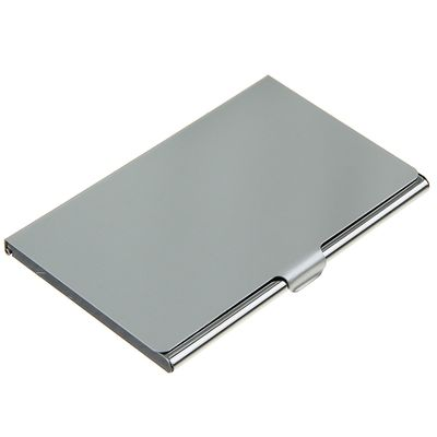 Business card holder metal