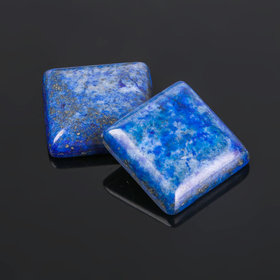 "Cabochon ""Lapis"" square 20*20mm (2pcs set)"