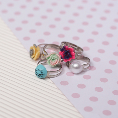 Ring baby Assorted lilies, form MIX, MIX color