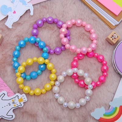 "Bracelet ""Vibracula"" 1 thread, caramels, MIX color"