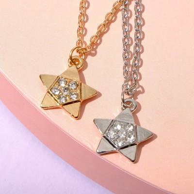 """Pendant """"Vibracula"""" star, MIX color, 40 cm"""