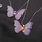 Кулон Butterfly нежность, цвет МИКС, 45см