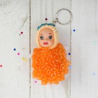 "Toy doll key chain ""Girl-angel"" dress in speckled, MIX color"