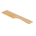 Wooden comb for application