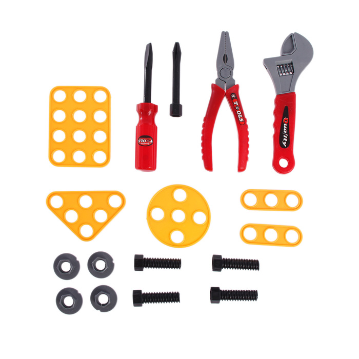 Набор инструментов «Собери сам», 17 элементов