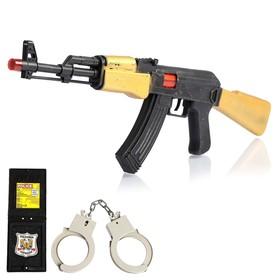 Набор полицейского «Захват», 3 предмета