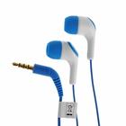 Наушники с микрофоном KOSS KEB15i Blue, вакуумные, синие