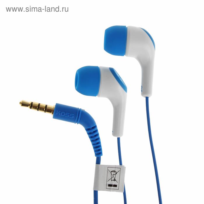 Гарнитура KOSS KEB15i Blue, синие