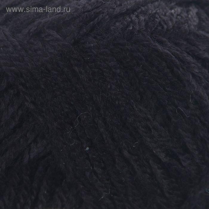 """Пряжа """"Adelia Natali"""" 100% акрил 300м/50гр (20 черный)"""