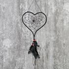 "Ловец снов ""Сердце с цветком"" МИКС 16,5х15,5 см"