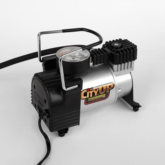 Компрессор автомобильный CityUp PROGRESS, АС-580, 150 Вт, 10 атм, 35 л/мин