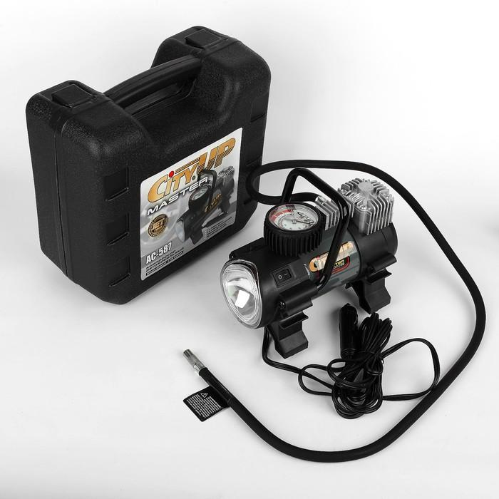 Компрессор CityUp Master, АС-580, 150 Вт, 10 атм, 35 л/мин, с фонарем