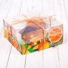 Коробка для капкейка «Теплота зимы», 16 х 16 х 7,5 см