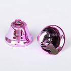 Колокольчик, набор 2 шт., размер 1 шт. 3 см, цвет светло-розовый