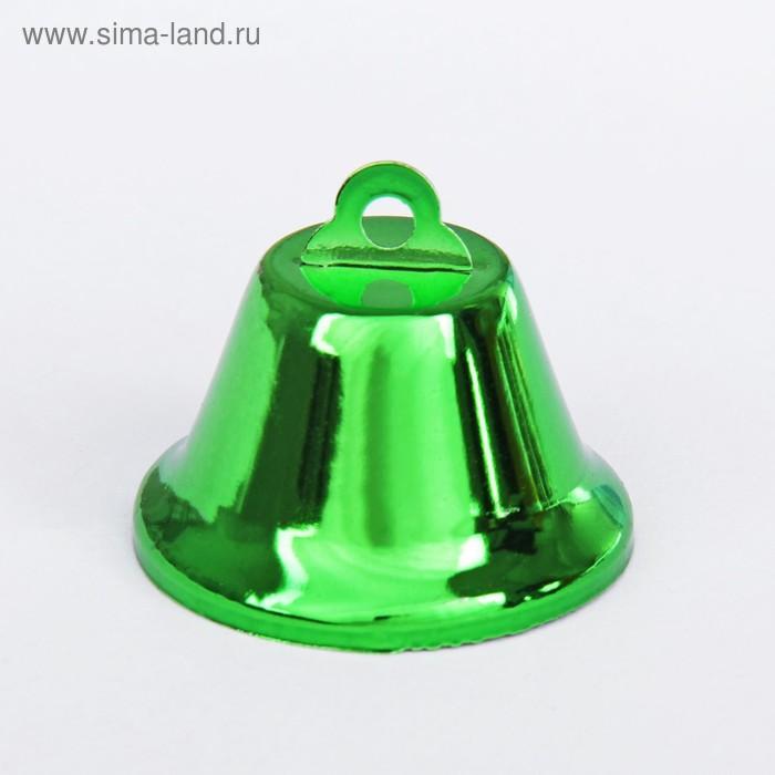 Колокольчик, размер 1 шт 3,8 см, цвет зеленый