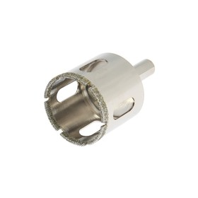 Diamond drill bit for glass and ceramics TUNDRA basic, triangular shank, 38 x 65 mm