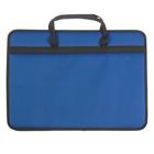 Папка А3 с ручками текстильная 420х300х60 мм 1С33 «Любань» синяя