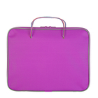 Папка с ручками текстиль А4 30мм 300*210 Канцбург 1Ш42 1426689 Офис Люкс фиолетовый
