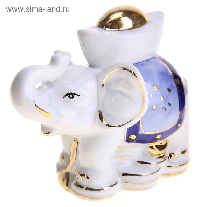 "Нэцкэ ""Слон с чашей"""