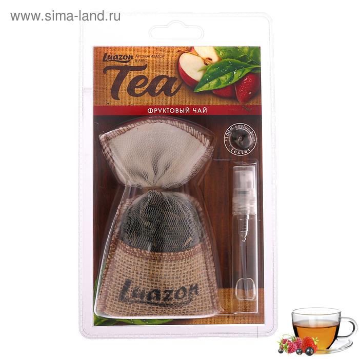 """Ароматизатор на зеркало Чай в мешочке """"Фруктовый чай"""""""