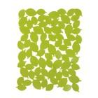 Подложка для раковины Foliage большая зеленая