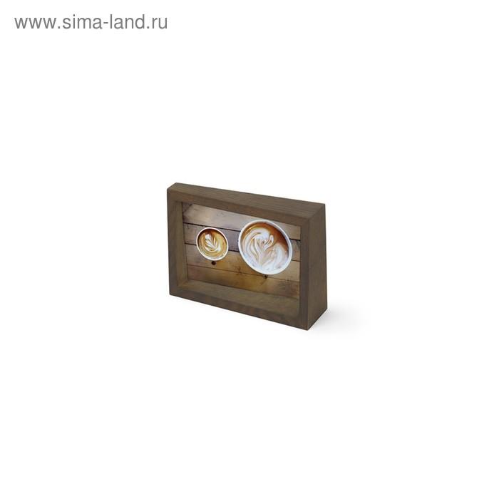 Рамка для фотографий EDGE 10x15 состаренный орех
