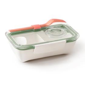 Ланч-бокс Bento Box оливковый, 500 мл