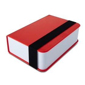 Ланч-бокс Box Book красный, 1,5 л