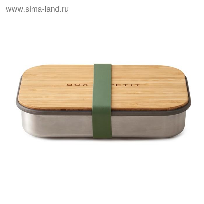 Сэндвич-бокс оливковый, 1,6 л