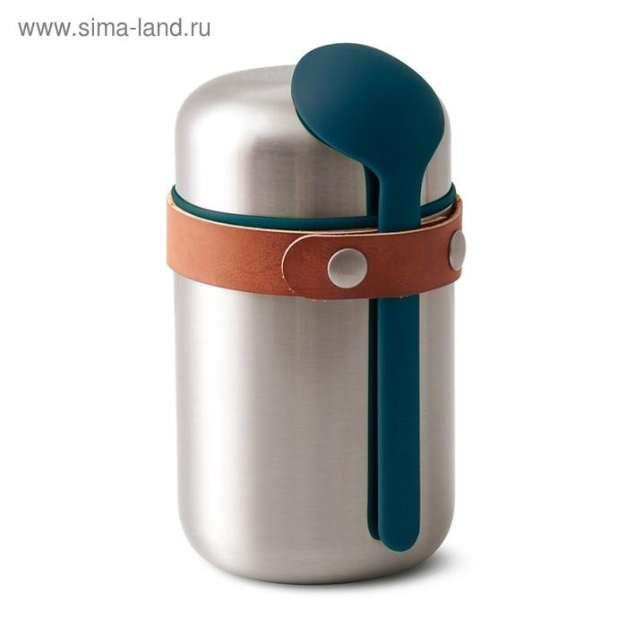 Термос для горячего Food Flask бирюзовый, 400 мл