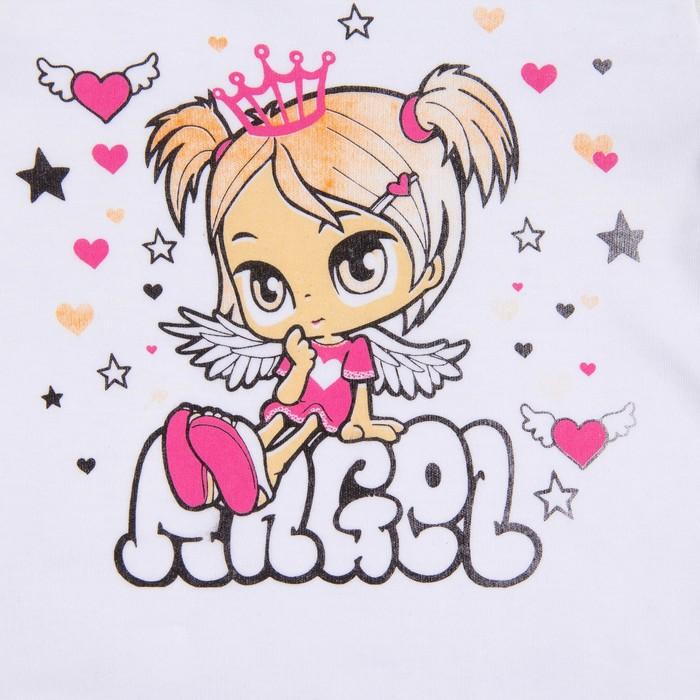 Пижама для девочки, рост 116 см, цвет микс 71