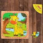 """Puzzle in frame """"Giraffe"""""""