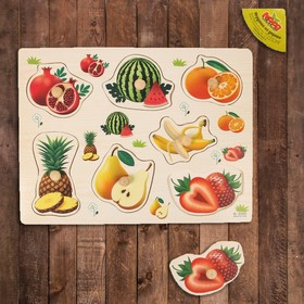 "Frame-liner ""Pick a picture. Fruits-berries"", inserts with drawings"