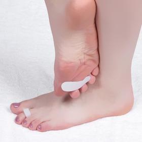 Полустельки для обуви, на палец, силиконовые, 6 × 2 см, пара