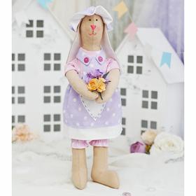 Набор для шитья текстильной игрушки «Зайка Елизабет»