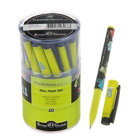 Ручка шариковая FreshWrite «Кедомания-2», узел 0.7 мм, синие чернила, матовый корпус Silk Touch