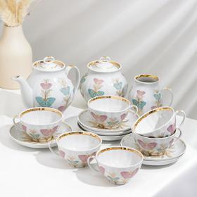 Сервиз чайный «Белый лебедь. Фантазия», 15 предметов