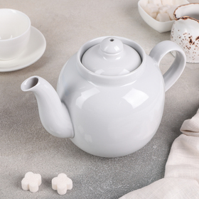 """Чайник 1,4 л """"Янтарь. Белый"""""""