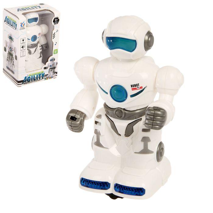 Робот «Странник», световые и звуковые эффекты, работает от батареек - фото 105508351