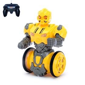 Робот радиоуправляемый «Трансформер», световые и звуковые эффекты, работает от аккумулятора