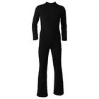 Комбинезон для фигурного катания, низ брюки, термобифлекс, размер 42, цвет чёрный