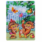 "Рамка-пазл ""Две обезьянки"" 192х262 мм"