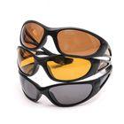 Поляризационные очки Aquatic в пластиковой оправе (цвет линз коричневый)