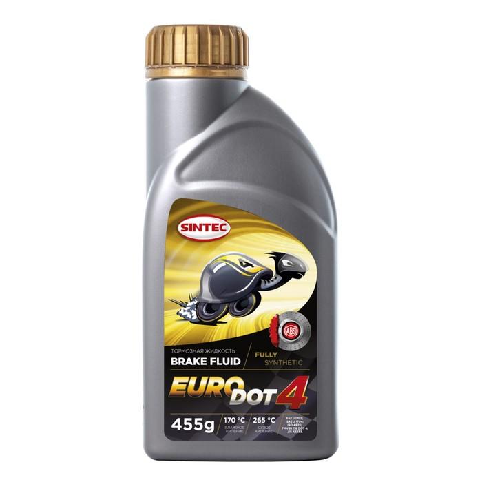 Тормозная жидкость SINTEC Euro Dot - 4, 455г