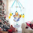 Рождественская подвеска «Ангелок со звездами», 31,7 х 37,7 см