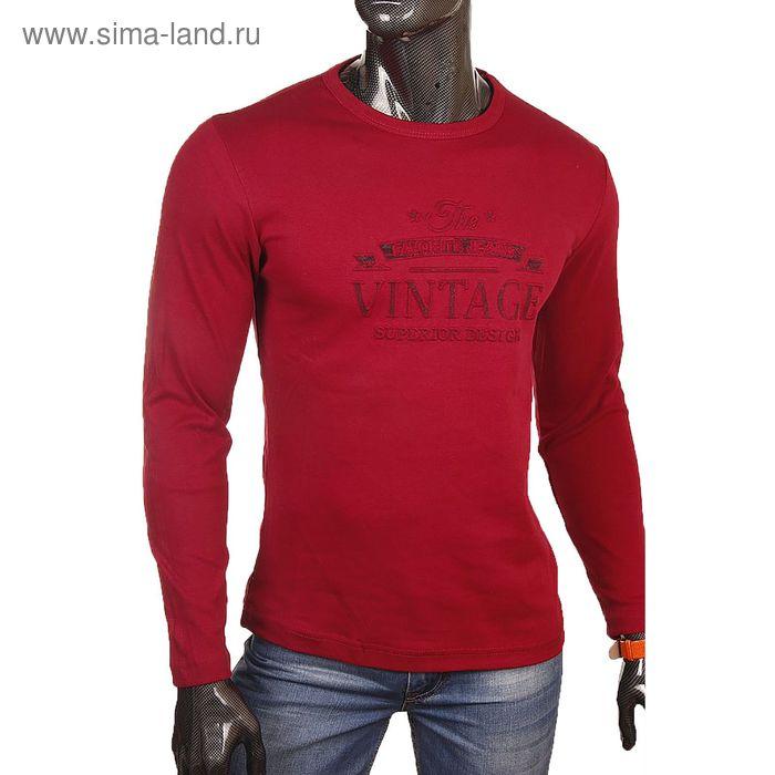 Джемпер мужской 0792 цвет бордовый р-р 48-50 (L)