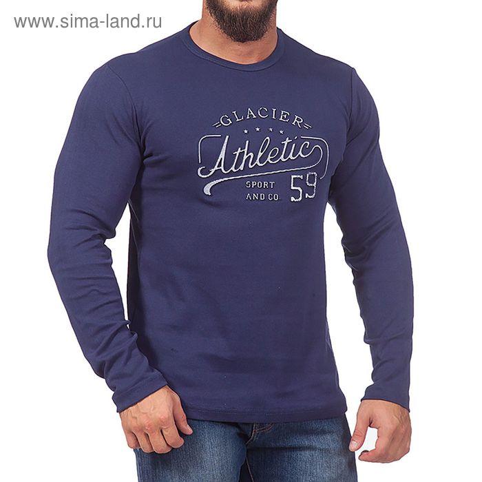 Джемпер мужской 0794 цвет джинс, р-р 50-52 (XL)